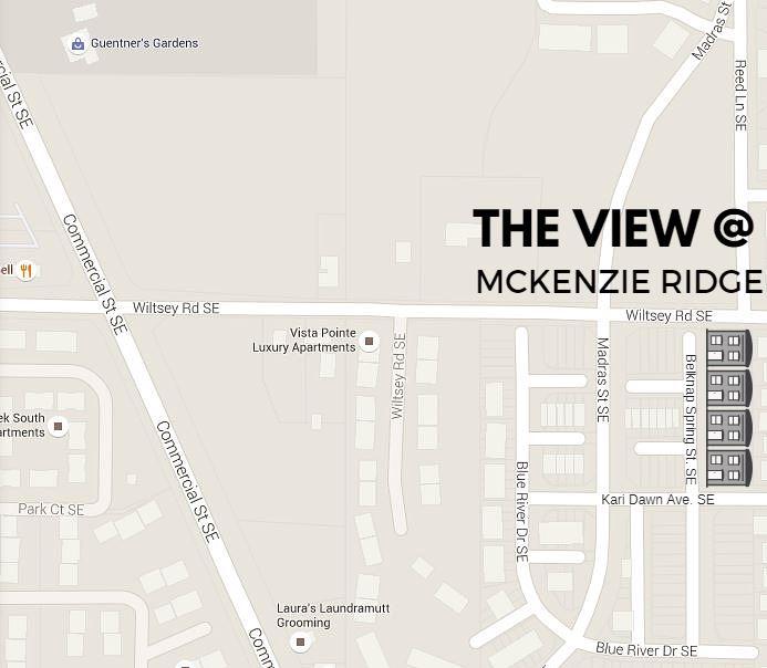 McKenzie Ridge Map